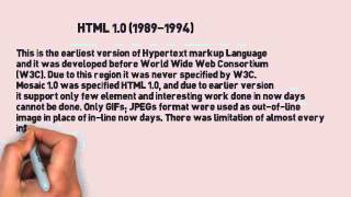 Hypertext Markup Language (HTML) : Learning!