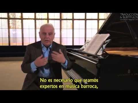 Cómo escuchar música - Daniel Barenboim - Subtitulado