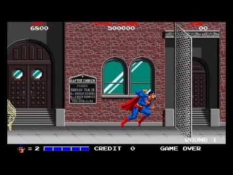 SUPERMAN - Taito 1988 by Sala Giochi 1980