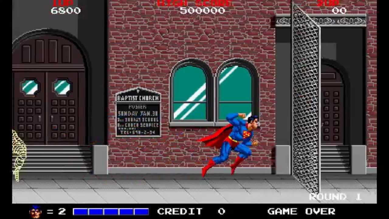 Sala Giochi Anni 80 : Superman taito by sala giochi youtube
