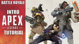 Apex Legends NEW Battle Royale Game | Intro / Tutorial & Character Showcase