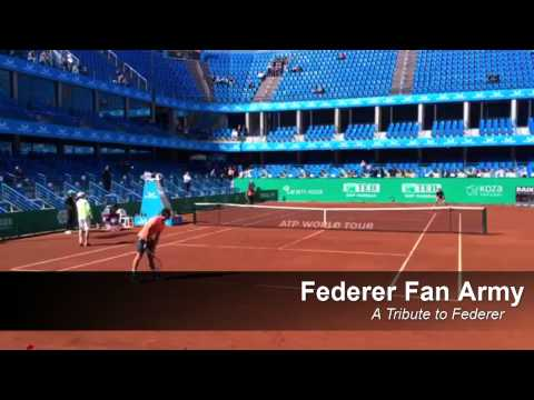 Federer and Dimitrov Practice Session - Istanbul 2015