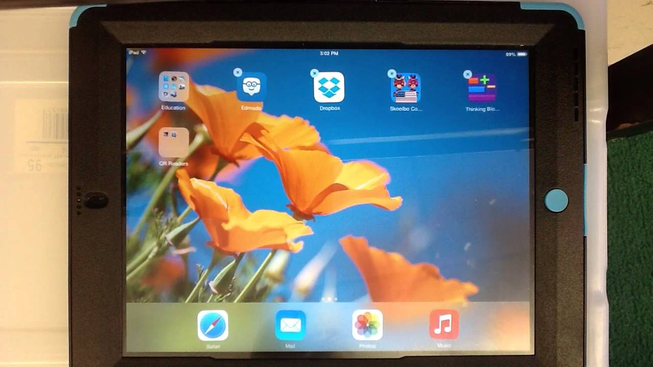 how to move bookmarks into folders on ipad