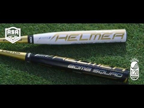 Easton Brett Helmer End Loaded Slowpitch Softball Bats