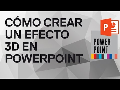 Cómo hacer un efecto 3D en PowerPoint 2010