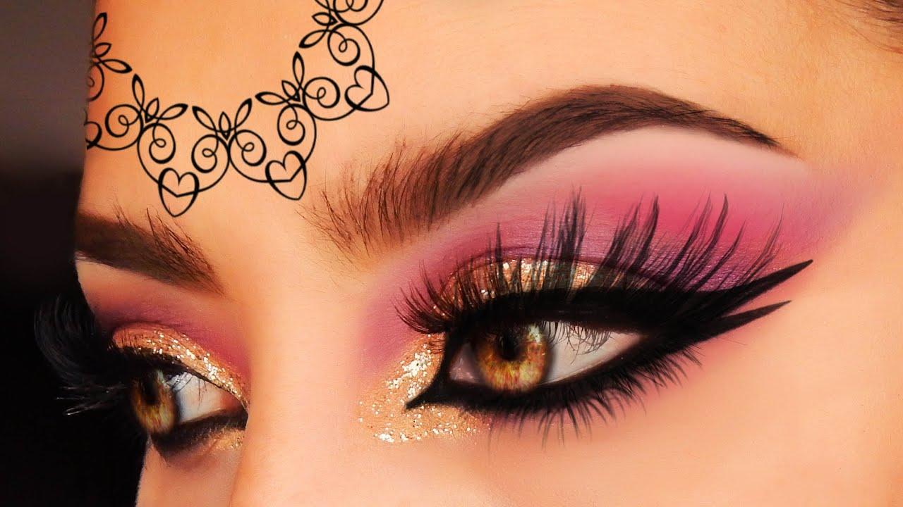 arabic pakistan wedding makeup tutorial golden marsala