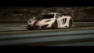 McLaren MP4 12C GT3 in Macau 2011 Videos