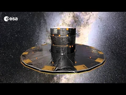 Gaia scanning the sky #ESA