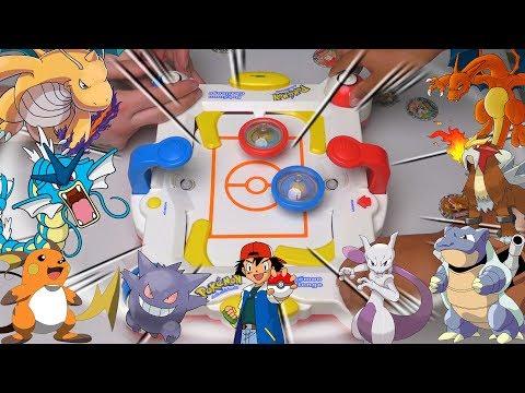OMG POKEMON SPINNING TOYS   Pokemon Challenge Game