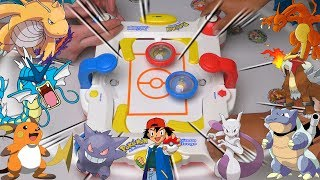 OMG POKEMON BEYBLADES | Pokemon Challenge Game