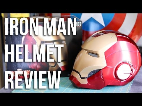 $100 Iron Man Replica Helmet Review | Hasbro Toys Marvel Legends Unboxing
