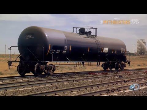 Разрушители легенд / Финальный Сезон 16, MythBusters   'Tanker Crush'