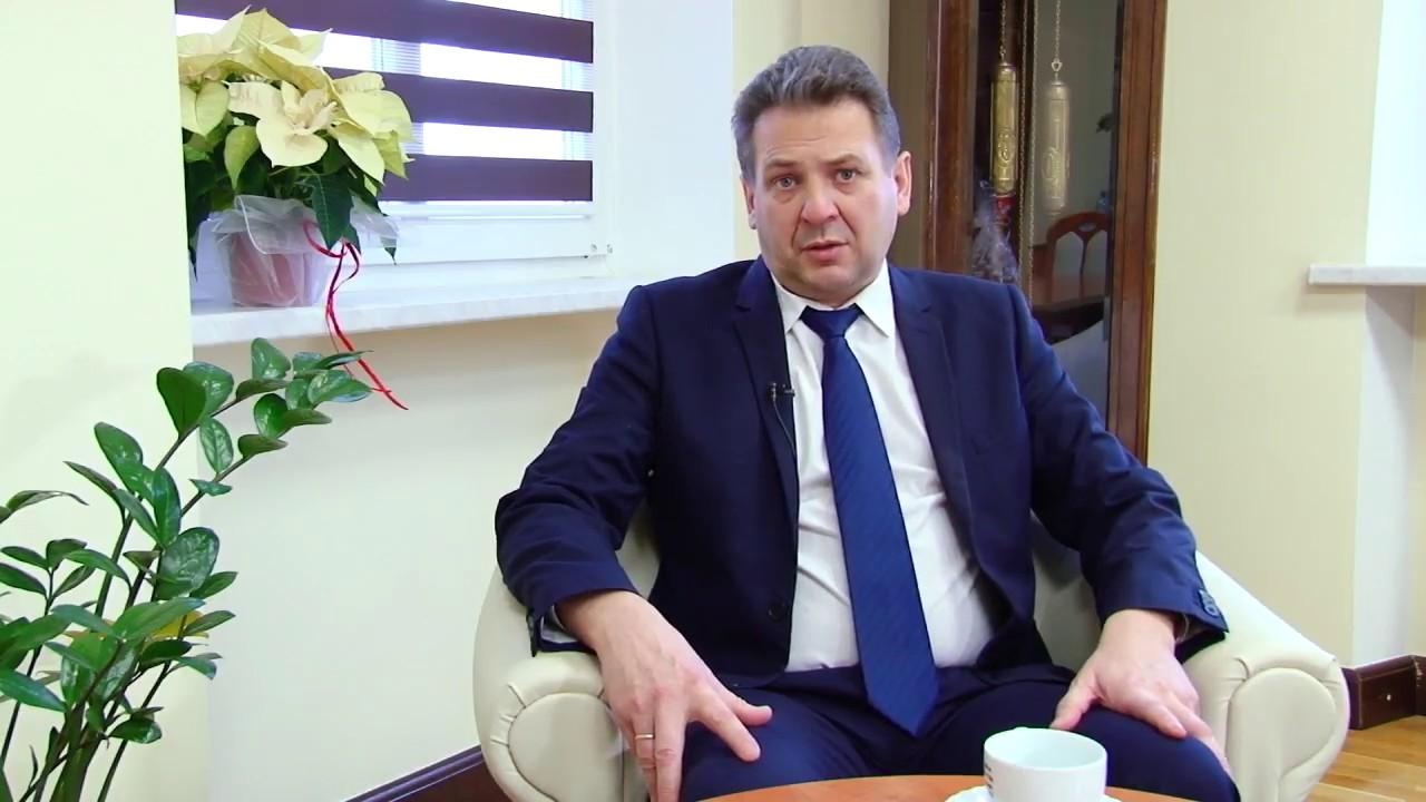 Na tapecie – Arkadiusz Słowiński, burmistrz Lubania