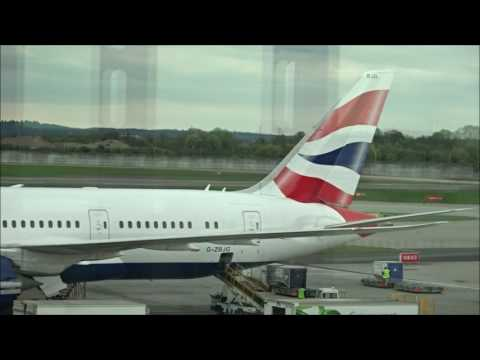 British Airways BA95 - London to Montreal - Boeing 787-8 (G-