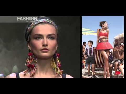 BIANCA BALTI for Dolce&Gabbana 2013 by Fashion Channel