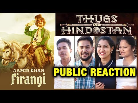 Thugs Of Hindostan FIRANGI First Look  Aamir Khan  PUBLIC REACTION