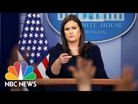 Watch Live: White House Press Briefing - September 11, 2017