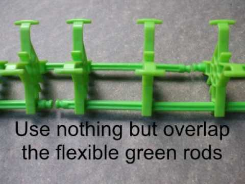 Knex Roller Coaster Instructions Begginers Guide Youtube