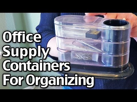Office Supply Containers For Organizing