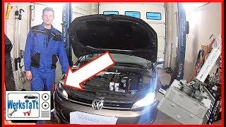 ►VW Golf 7◄ Xenonbrenner wechseln [Replace Xenon Bulb] ◢WERKSTATT-TV◣