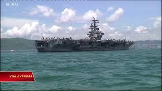 TQ ngưng cho phép tàu Mỹ ghé thăm Hong Kong (VOA)