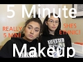 5 MINUTE MAKEUP CHALLENGE WITH ENJAJAJA