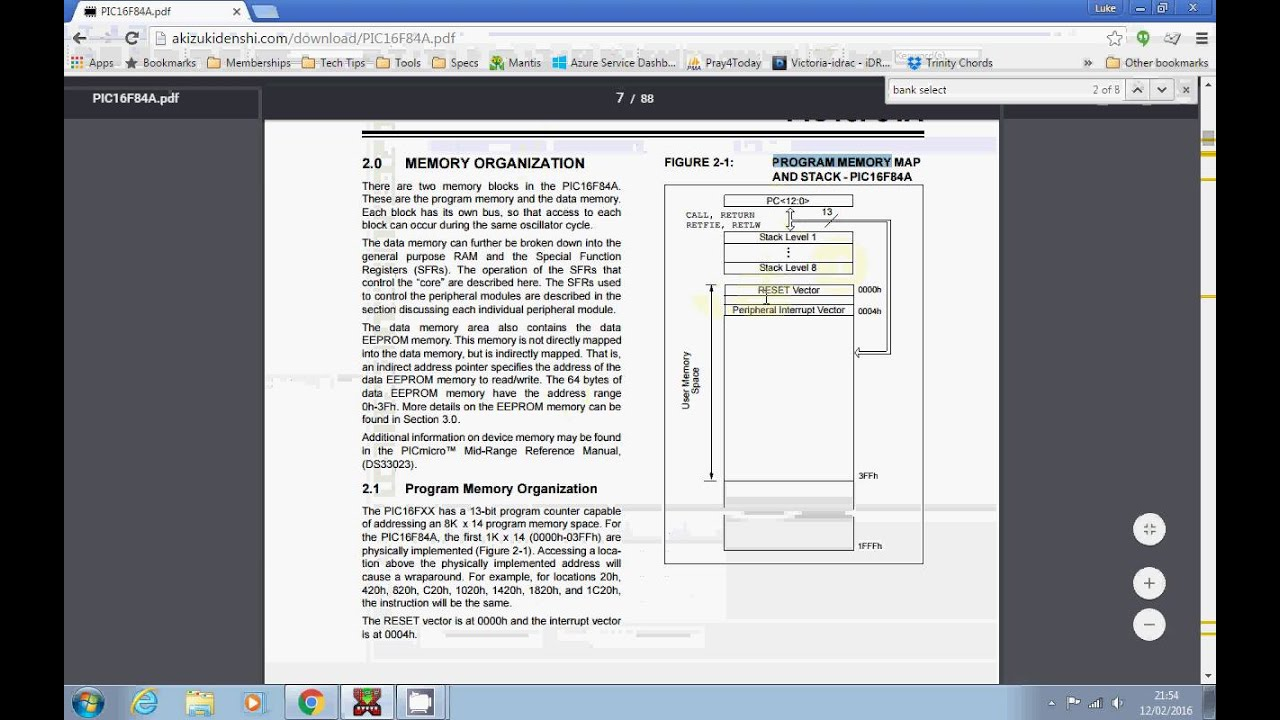 PIC Microcontroller Tutorial 2 - Your first program, switching on an output
