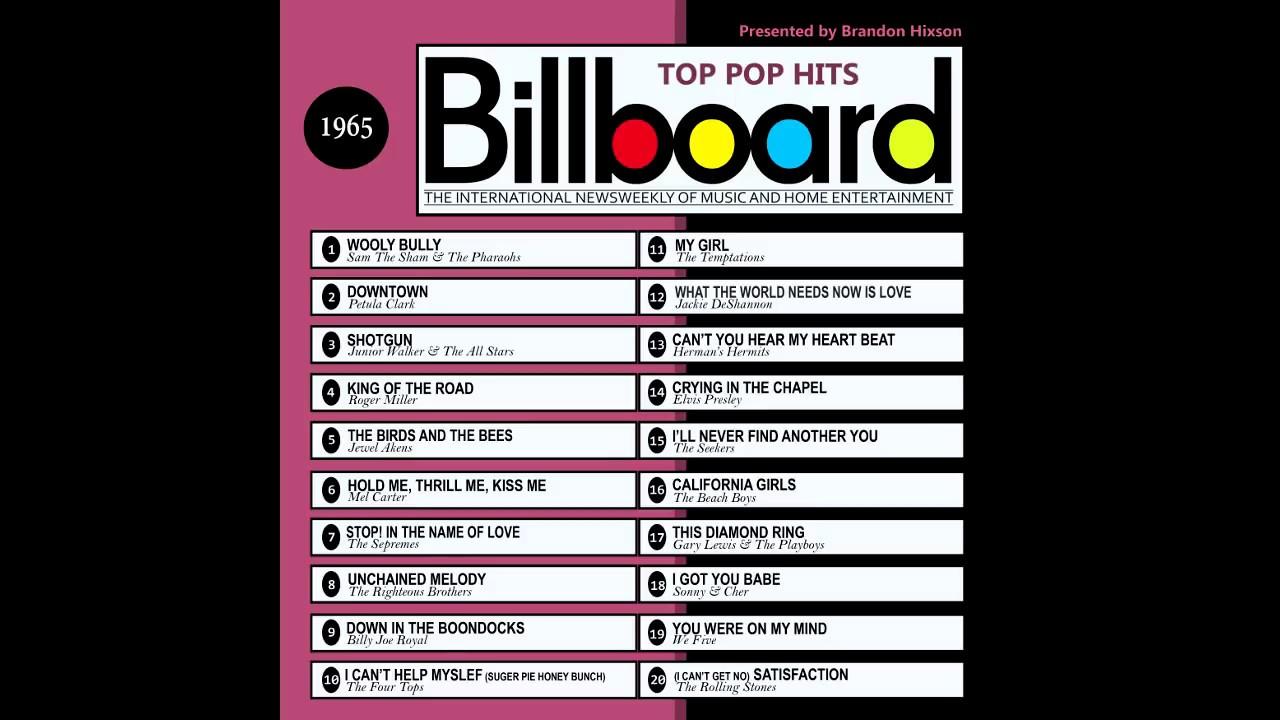 Download Billboard Top Pop Hits - 1965
