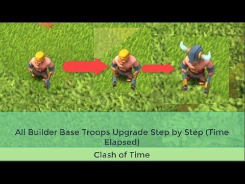 All Builder Base Troops Upgrade In 4 Minutes | Clash Of Clans Time Elapsed