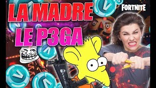 🤬😱 SCAMMER RATA RETURNS LOCO GRIING AND YOUR MOTHER P3GA!😈 👿 - Fortnite Save The World