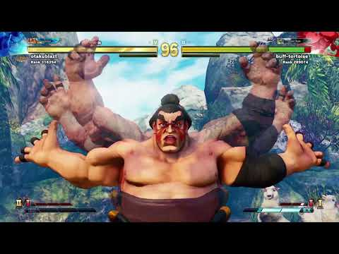 STREET FIGHTER V - Honda vs Rashid |