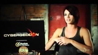 Missy Peregrym talks Cybergeddon -- ET Canada