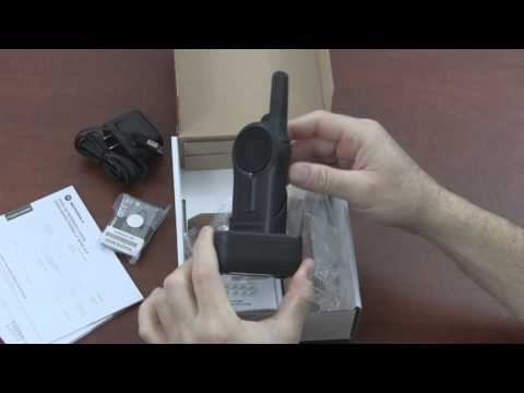 Motorola DLR1060 Digital Business Two Way Radio Unboxing