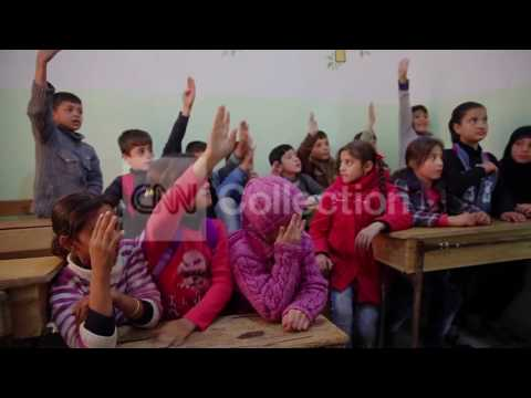 SYRIA: CHILDREN ATTEND ALEPPO'S SECRET SCHOOL