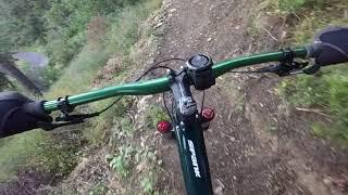 Lepanto XC 2018 uphill part