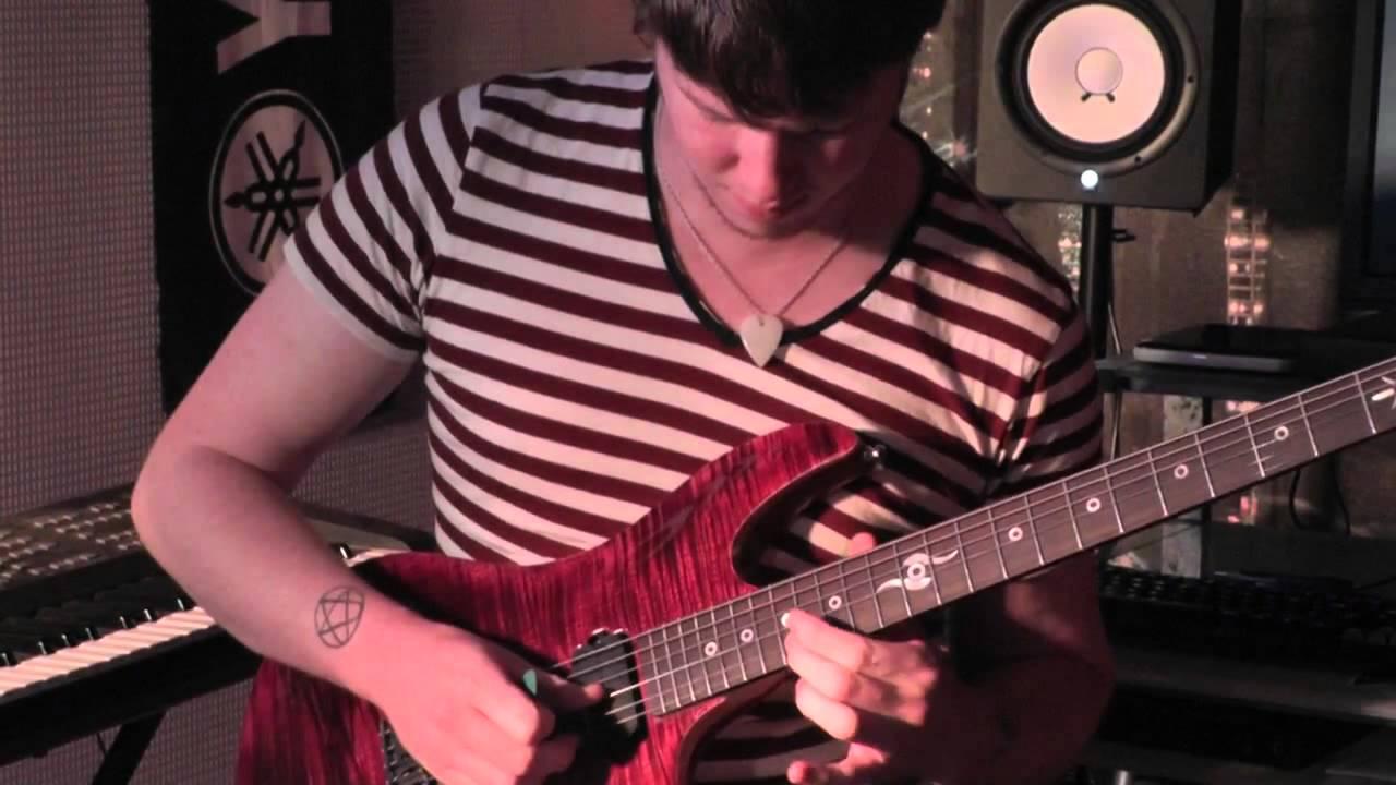 Improvisation avec une guitare Xavier Petit [ avec Kemper ...