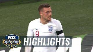 England vs. Italy | 2018 International Friendly Highlights