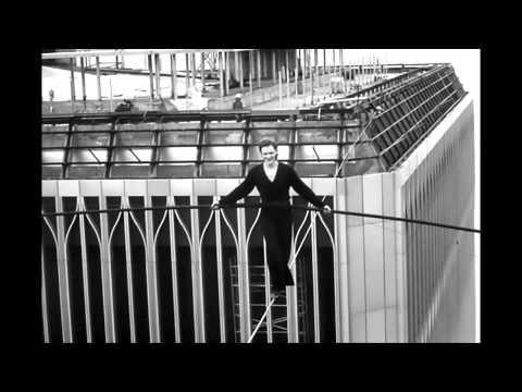 Phillipe Petit atop The World Trade Center