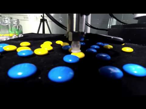 Dobot M1 w/ M&Ms Beans Sorting - Computer Vision Showcase @Dobotarm