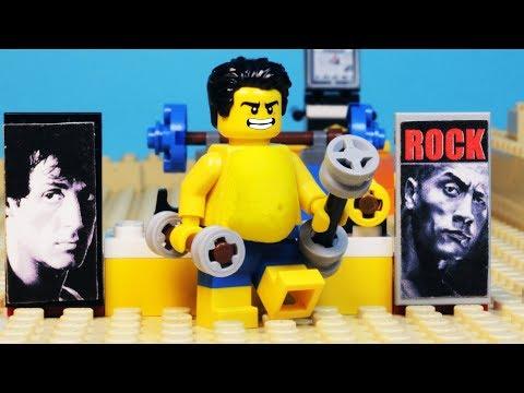 Lego Gym Beach Body Building  - Fat Lego (2018)