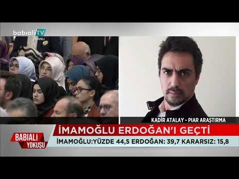 Son Anketlere Göre, İmamoğlu, Erdoğan'ı Geçti