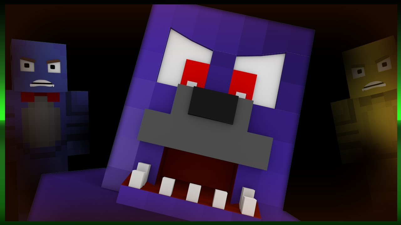 minecraft 1 8 five nights at freddy s horror adventure map w