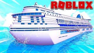 LE MEILLEUR BATEAU AU MONDE !   Roblox Cruise Ship