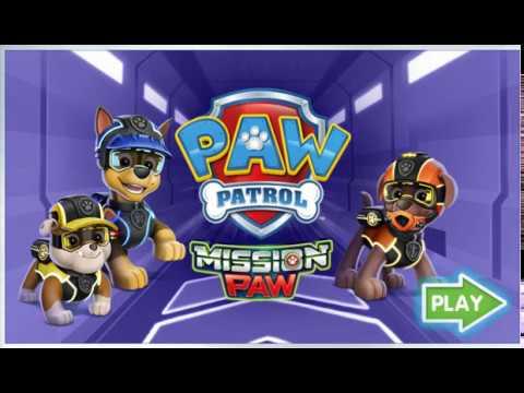 Мультфильм щенячий патруль миссия лапа