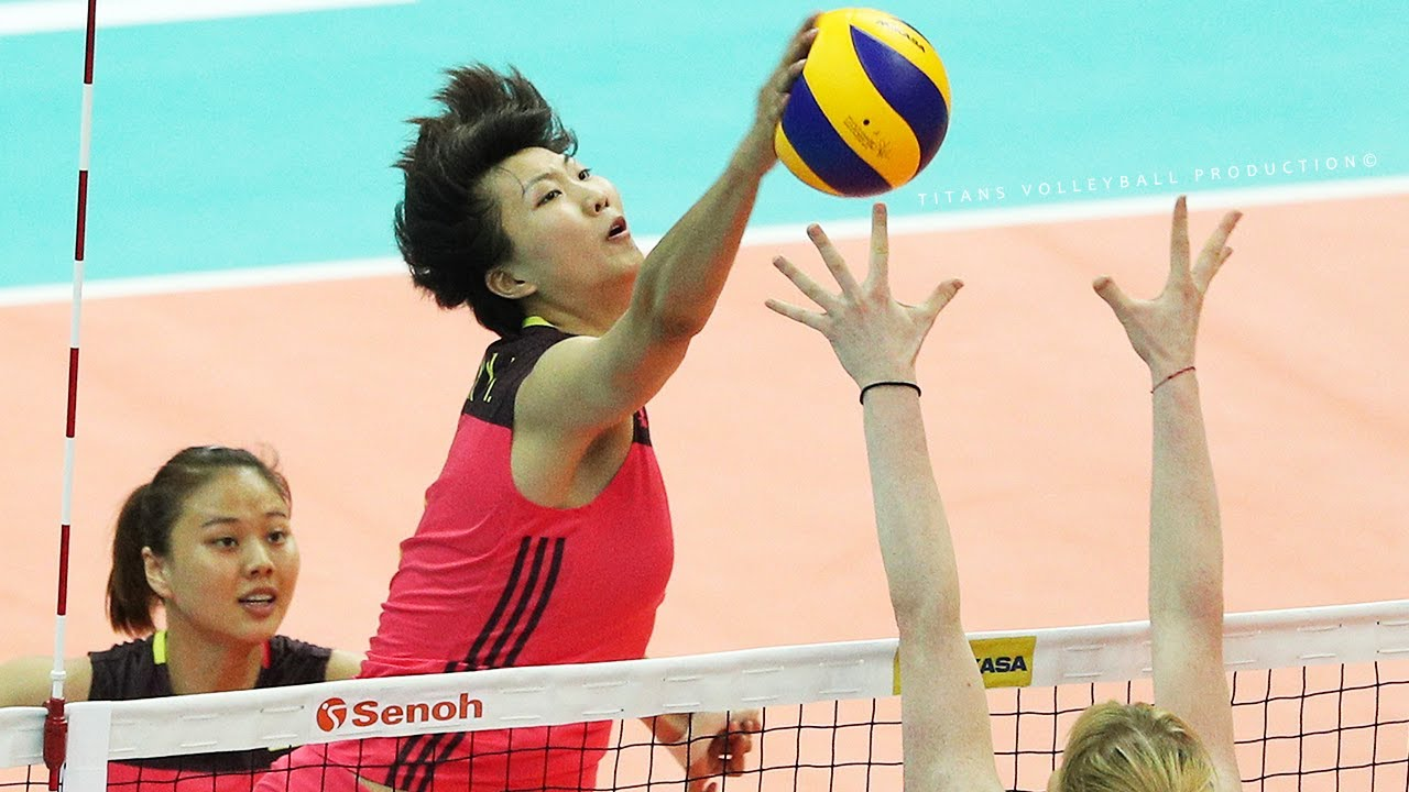 Xinyue Yuan (袁心玥) - Fantastic Volleyball Spikes | 2017 Women's World Grand Champions Cup