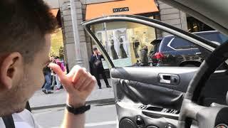 Скачать Реакция на громкий автозвук 9 мая День победы Катюша Смуглянка