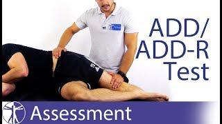 ADD/ADD-R (Adduction) Test | Gluteal Tendinopathy (GTPS)
