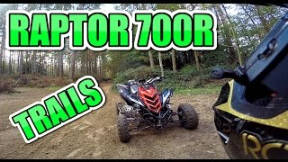 🐒 YAMAHA RAPTOR 700 TRAIL RIDING SUSPENSION SETTINGS