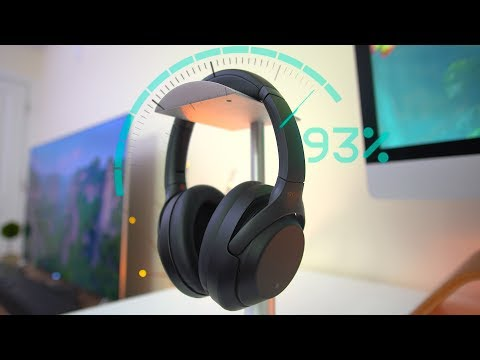 The Most Advanced Headphones of 2018? Sony WH-1000X M3!