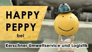 HAPPY PEPPY bei Kerschner Umweltservice und Logistik